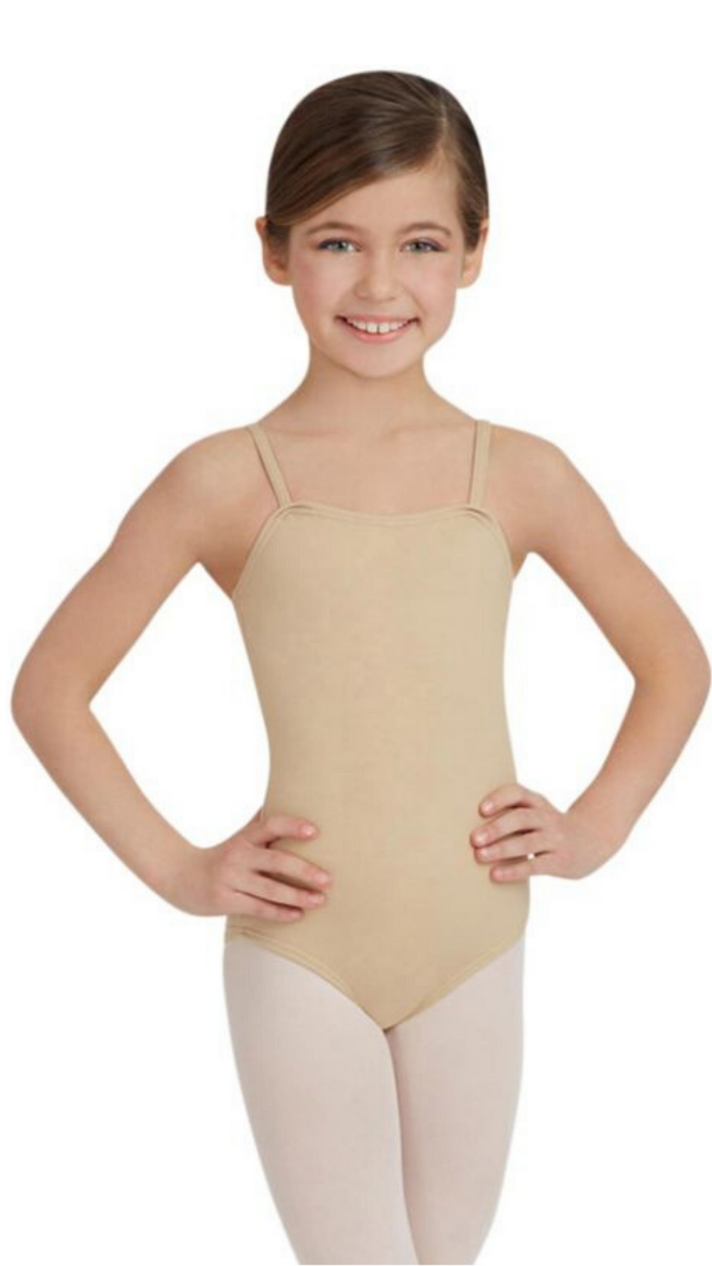 Nude Camisole Leotard TB49C-Child