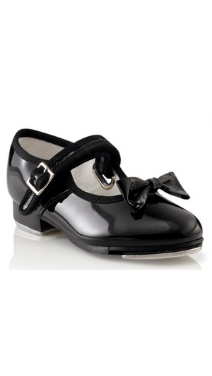 Mary Jane Tap Shoe 3800T/C-Child (Patent Black)