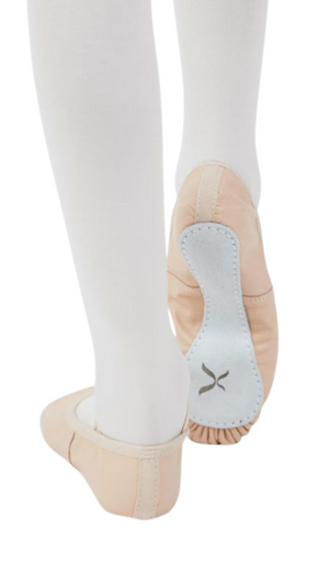 Daisy Leather Ballet Shoe 205 (Ballet Pink)-Adult