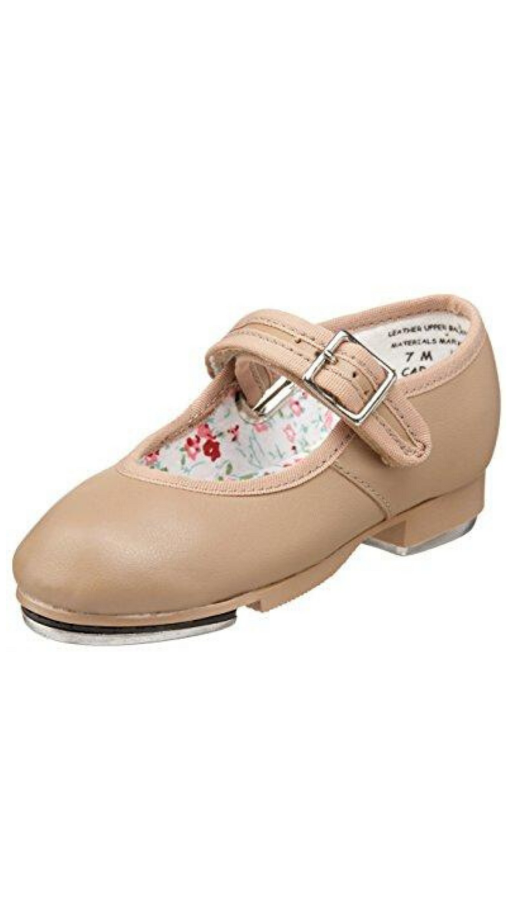Mary Jane Tap Shoe 3800T/C-Child (Caramel)
