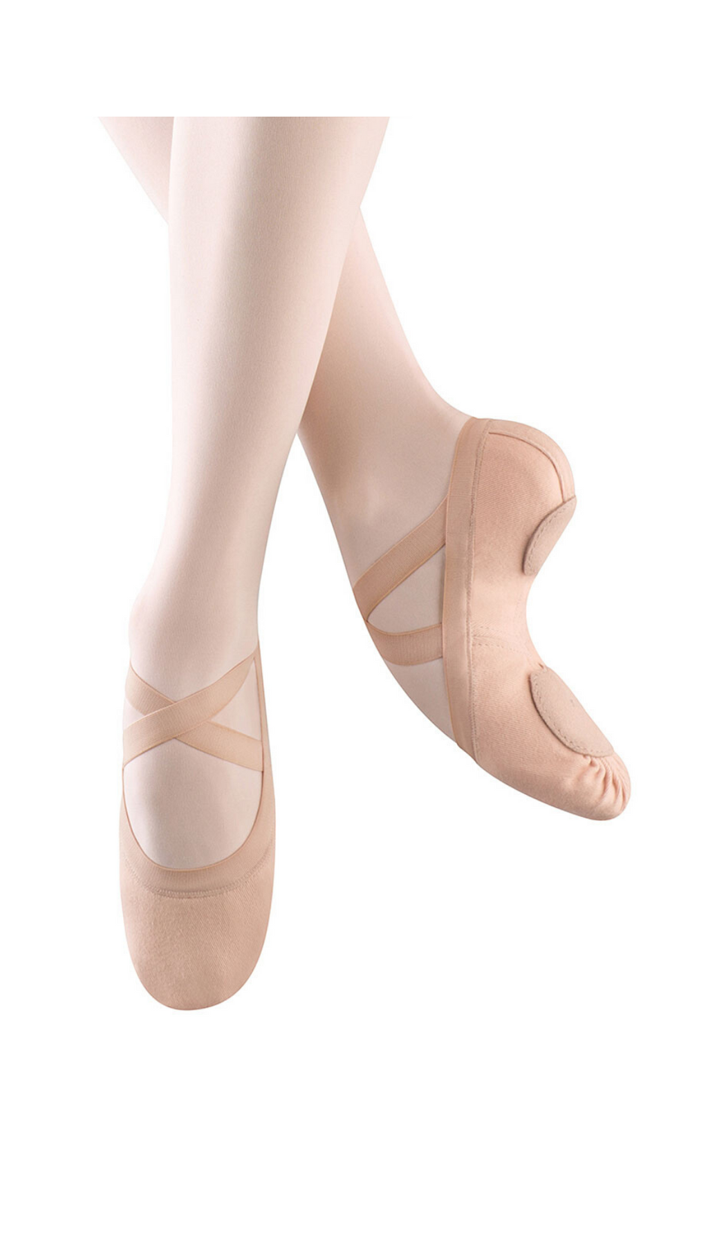 Synchrony Stretch Canvas Split Sole Ballet Shoe S0625L-Adult