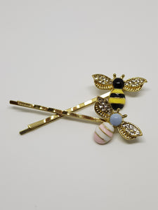 Bee Hair Slides