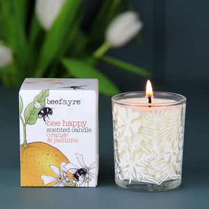 Bee Happy Votive Scented Candle