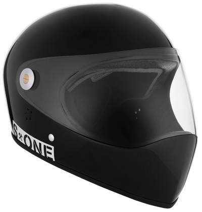 Black Full Face Helmet by S1