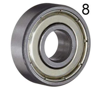 Edge wheel bearing set