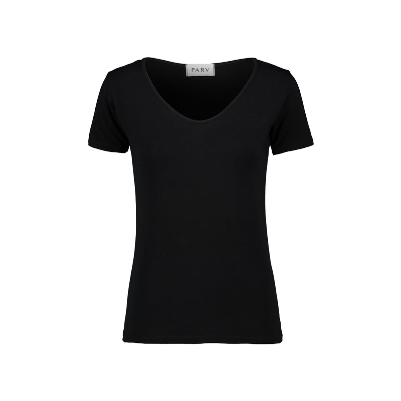 Slim Wide U T-Shirt