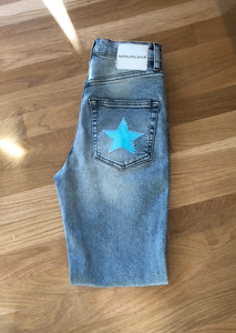 UNEMPLOYED DENIM BOLT BABY