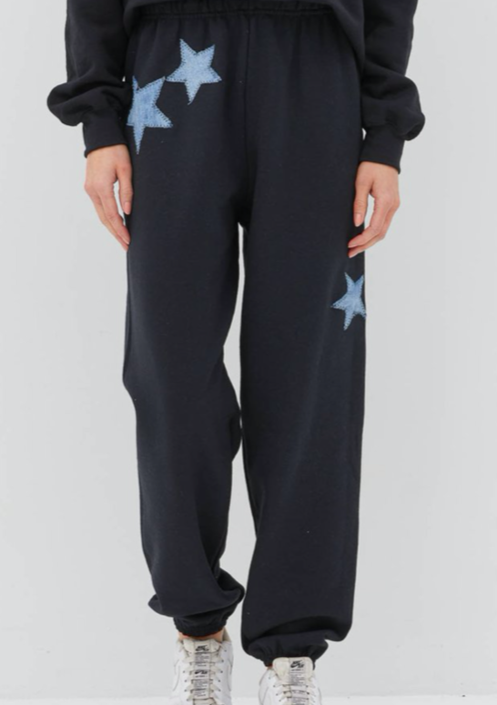 UNEMPLOYED DENIM- STAR DENIM SWEATPANTS