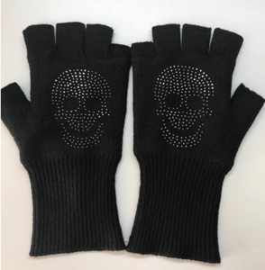 SKULL FINGER GLOVES