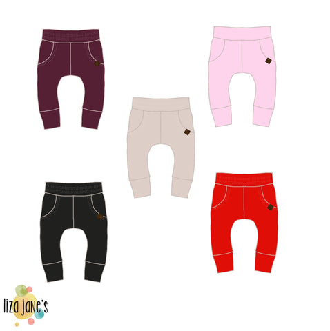 Valentine's Solids- Joggers