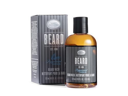 The Art Of Shaving Peppermint Beard Wash 4 oz