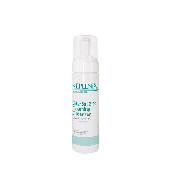 Replenix Acne Solutions Gly/Sal 2-2 Foaming Cleanser