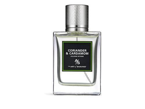 The Art of Shaving Coriander and Cardamom Cologne