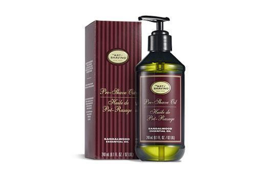The Art of Shaving Sandalwood Pre-Shave Oil Large Pump 8 oz