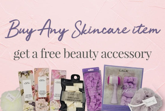 Beauty Accessory FREE with purchase