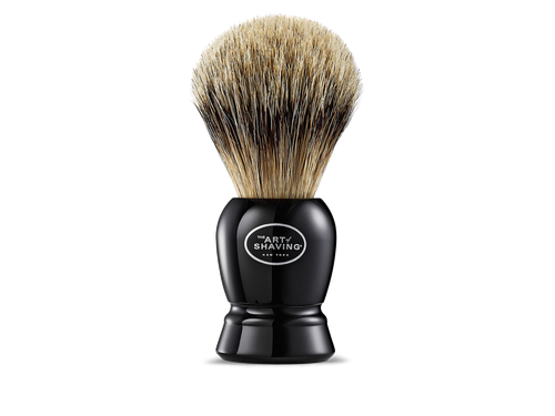 The Art of Shaving Fine Badger Brush Black