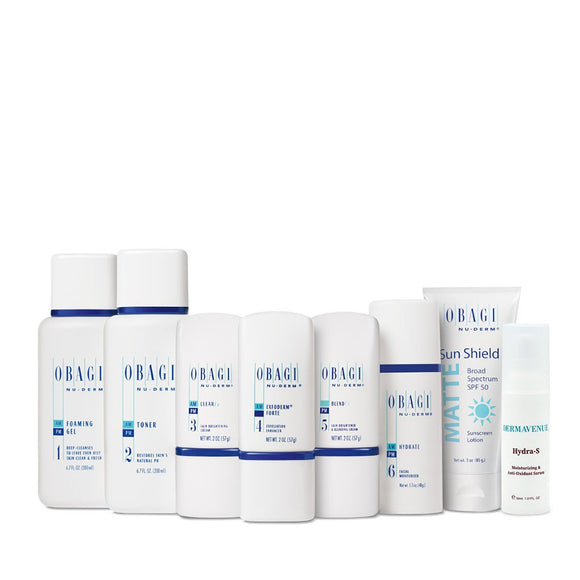 Obagi Nu-Derm Fx System (Normal to Oily) Plus Hydra-S