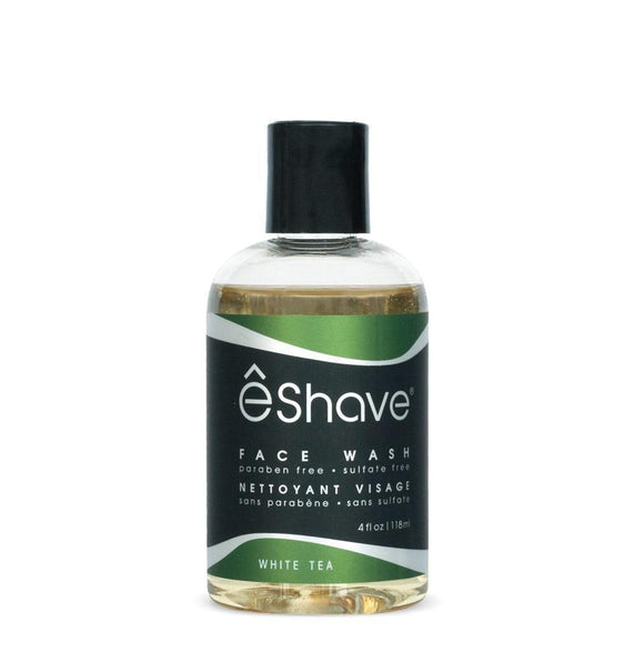 eShave Face Wash White Tea (4 oz)