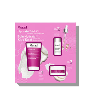 Murad Hydrate trial kit (3-piece set)