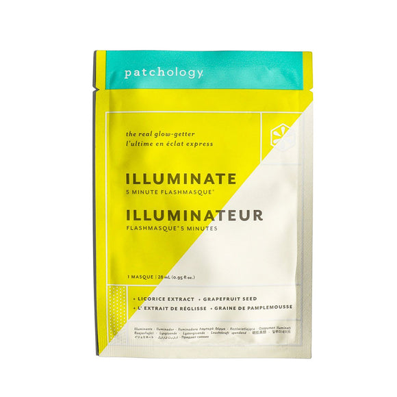 Patchology FlashMasque Illuminate 5 Minute Sheet Mask - Single