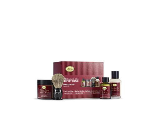 The Art of Shaving Sandalwood Full Size Kit with Genuine Shaving Brush