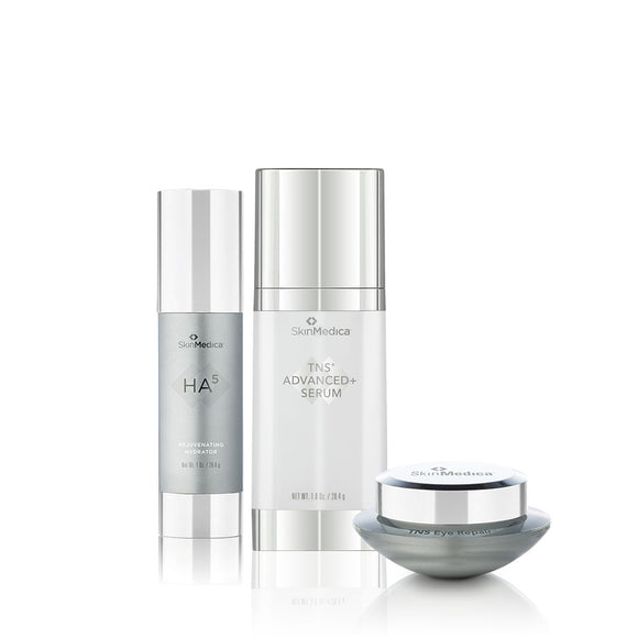 SkinMedcia TNS Advanced Serum, TNS Eye Repair, and HA5 BUNDLE