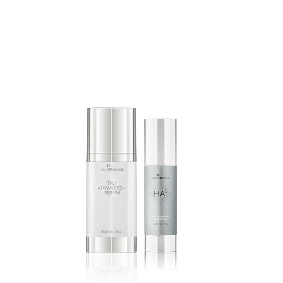 SkinMedica TNS Advanced+ Serum and HA5 Rejuvenating Hydrator (1oz.) Bundle