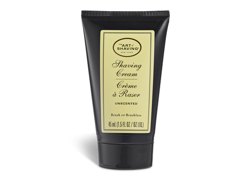 The Art of Shaving Unscented Shaving Cream Tube 1.5 oz