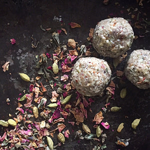 Cardamom Rose Snack Bombs