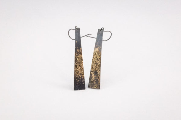 Gold-Dazzled Earrings