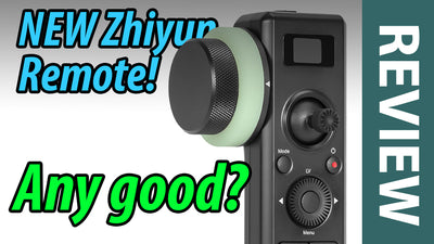 Review of the NEW Zhiyun Follow Focus Remote ZW-B03