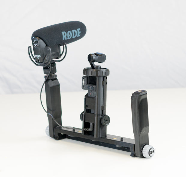 Audio Riser for Osmo Pocket Wireless Cases