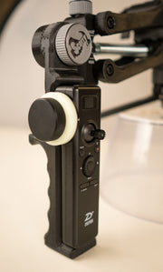Follow Focus Remote Handle for Pro 3 & Pro 2 Crane 2 - ScottyMakesStuff - smooth footage with 4th Axis - Z axis - and accessories for content creators and filmmakers