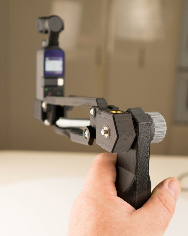 Osmo Pocket Micro 4th Axis with Handle - ScottyMakesStuff - smooth footage with 4th Axis - Z axis - and accessories for content creators and filmmakers