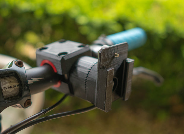 SR Handlebar Mount for Pro 3 - ScottyMakesStuff - smooth footage with 4th Axis - Z axis - and accessories for content creators and filmmakers