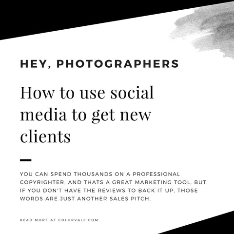 How to use social media to get new clients