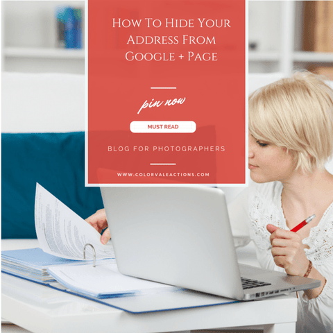 How To Hide Your Address From Google + Page