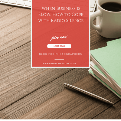 When business is slow: How to cope with Radio Silence