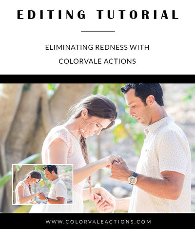 Eliminating Redness with Colorvale Actions