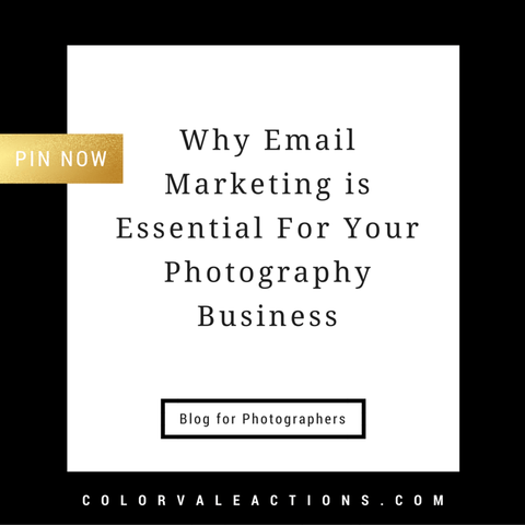 Why Email Marketing is Essential For Your Photography Business