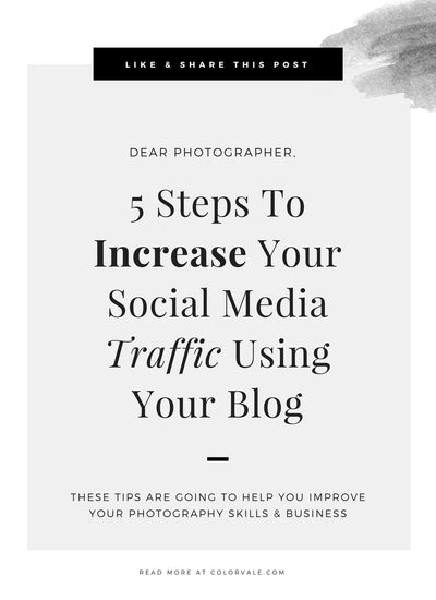 5 Steps To Increase Your Social Media Traffic Using Your Blog