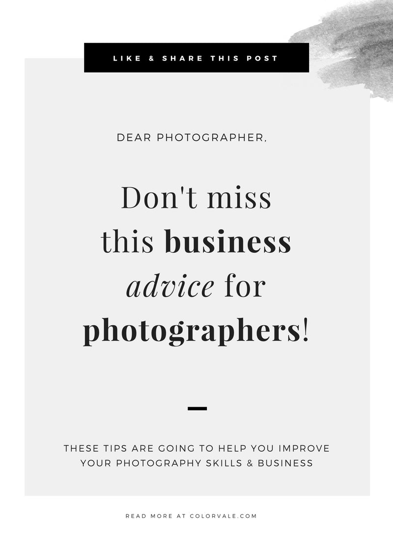 Best Photography Business Advice