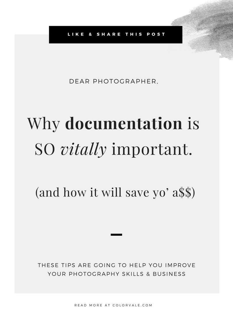 Why documentation is so vitally important for your business (and how it can save yo' a$$)
