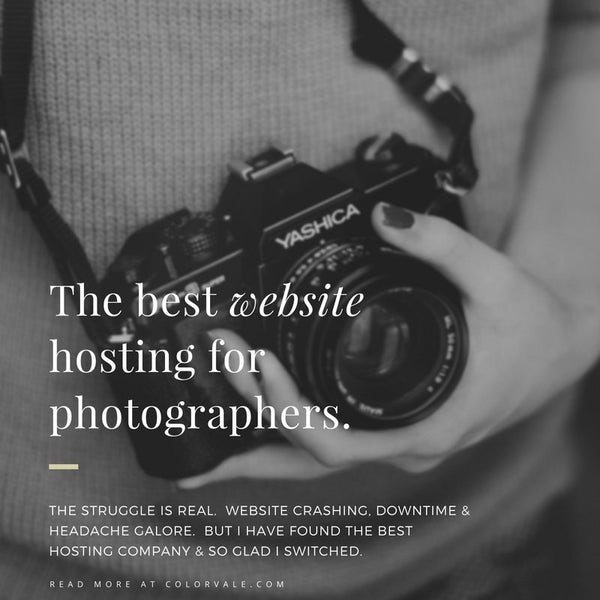 Best website hosting for photographers