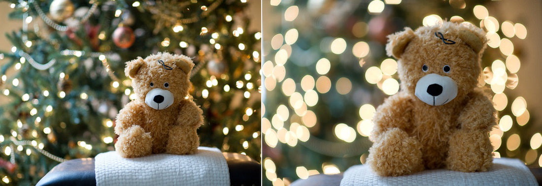 How To Photograph Subjects In Front Of A Christmas Tree