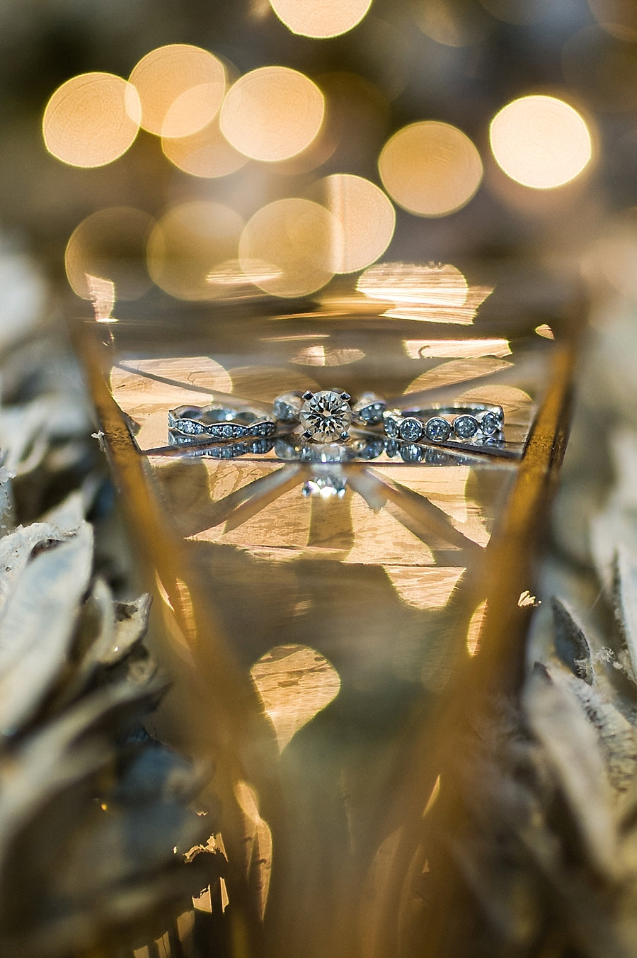 How to photograph wedding rings without a macro lens