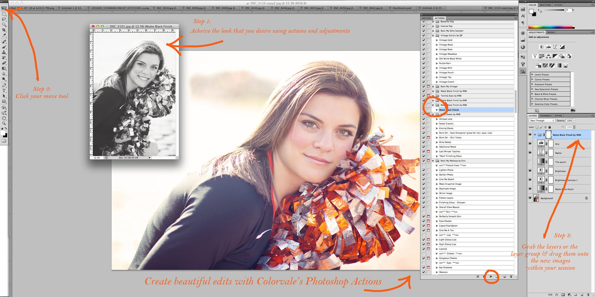 How to Edit Thousands of Images at ... - Photoshop Tutorials
