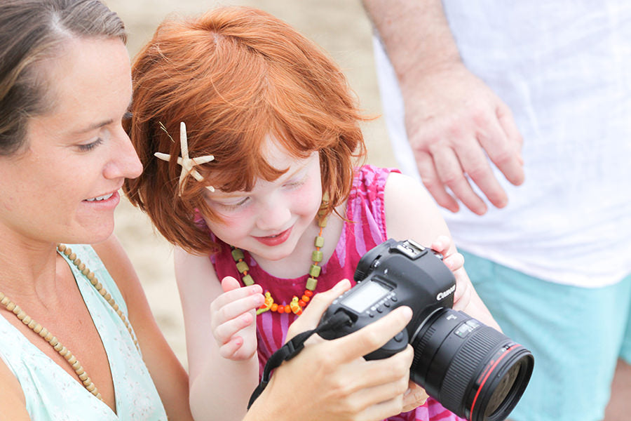 How to  help children feel comfortable in front of the camera
