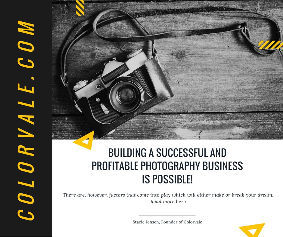 Building A Successful Photography Business IS Possible but you must have this ...