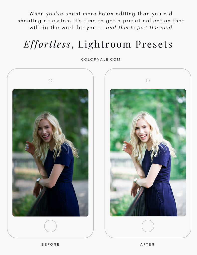 Effortless Edits Lightroom & ACR Presets